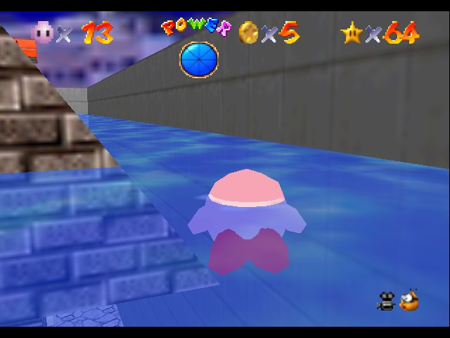 Super Mario 64 - Kirby Edition - ha 64 stars - User Screenshot